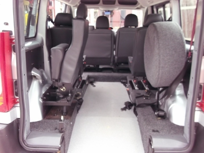2008 Peugeot Expert HDI 6 SEATS lowered long floor conversion