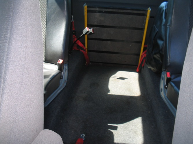 PEUGEOT EXPERT HDI 2008 WHEELCHAIR ACCESS VEHICLE