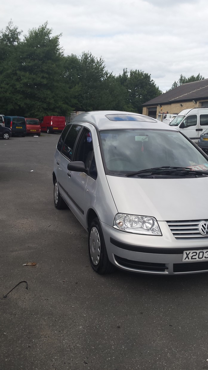 VW SHARAN AUTOMATIC WHEELCHAIR ACCESS VEHICLE BROTHERWOOD CONVERSION