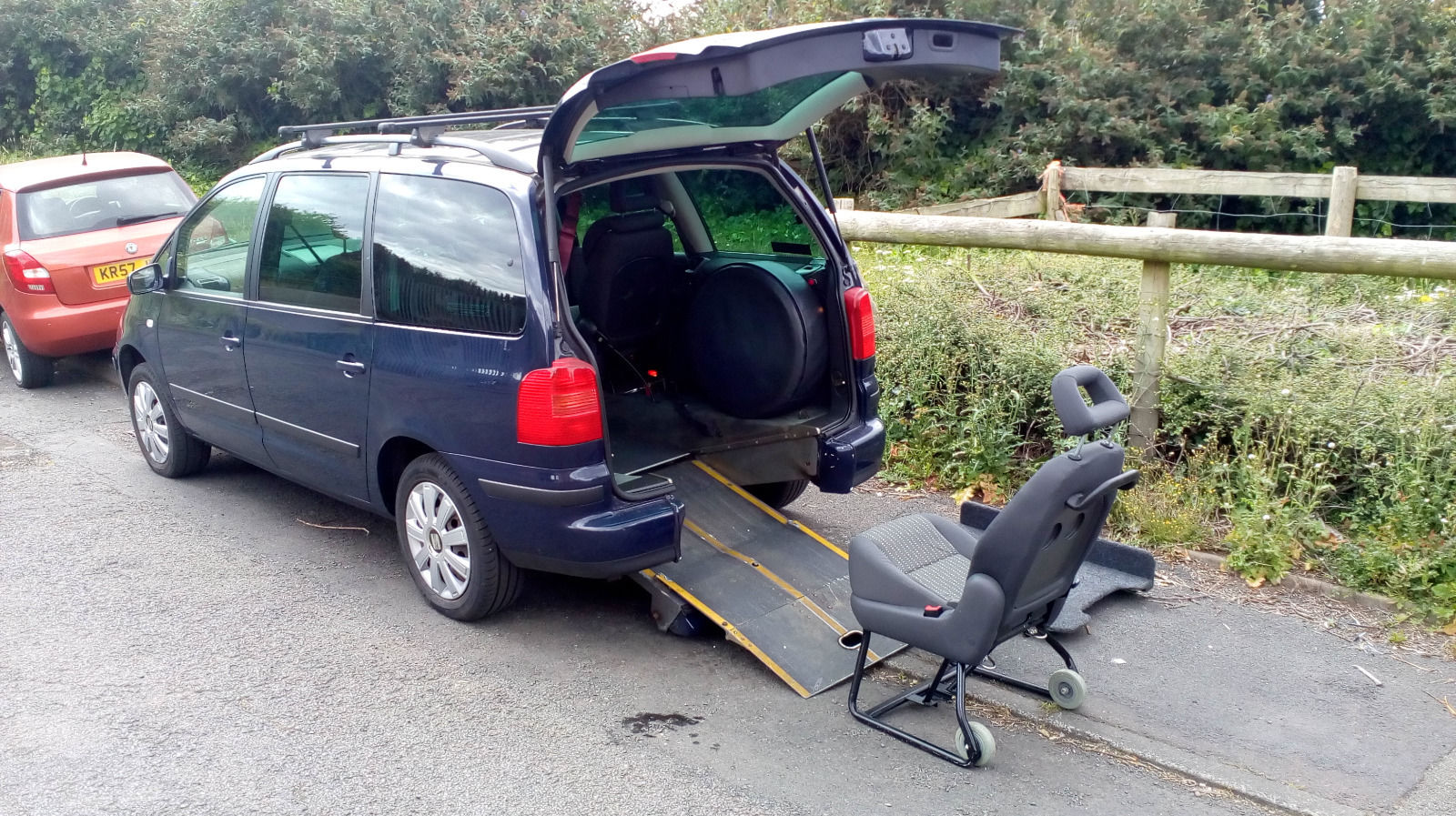 SEAT ALHAMBRA TDI WHEELCHAIR ACCESS VEHICLE