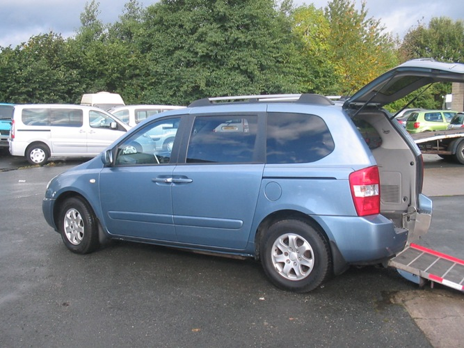 2008 KIA SEDONA  WHEELCHAIR ACCESS VEHICLE